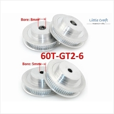 GT2 Timing Pulley 60 Teeth Bore: 5mm / 8mm For 3D Printer, CNC