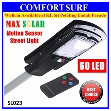 30W 60pcs LED Max Solar Powered Motion Sensor Street Light Road Lamp