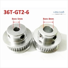 GT2 Timing Pulley 36 Teeth Bore: 5mm / 8mm For 3D Printer, CNC