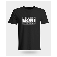 Can not Adult T-shirt