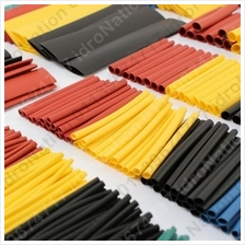 Heat Shrink Insulation Tubing Tube Wrap Sleeve 328PC 328 PC Mix Color