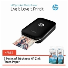 HP Sprocket Photo Printer Portable Wireless Light Weight Instant Print