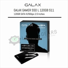 GALAX GAMER SSD L 2.5' SATA III 6Gb/s 120GB - Read/Write 540/480 MB/s