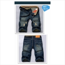 MS0226 Men's Summer Denim Casual Short Pants