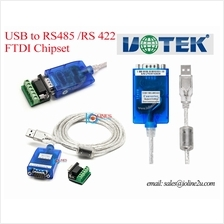 UTEK UT-890/890A FT232 USB to Serial RS485/RS422 DB9 serial Converter Win XP/7