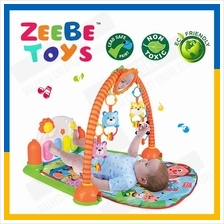 ZEEBE Baby Kid Piano Music Gym Rack Toy Education Activity Carpet Mat