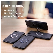 iPhone 5 5S SE 6 6S 7 Plus IFACE Magnetic Ring Holder Stand Case