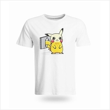 Pickachu Recharge Pokemon T-shirt
