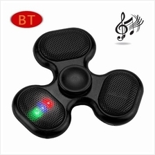 LED Bluetooth MP3 Audio Player Fidget Hand Spinner Support TF Card