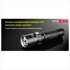 Klarus ST12 Utilizes Cree XM-L2 U2 LED Flashlight - 900 Lumens