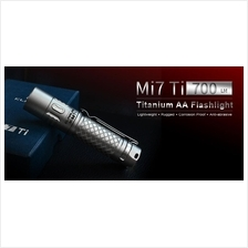 Klarus Mi7 Ti Titanium Cree XP-L HI V3 LED Flashlight - 700 Lumens