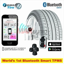FOBO Advance Wireless Car Tire Pressure Monitoring Sytem (TPMS)