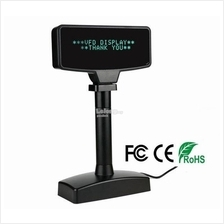 POS System - VFD 220 Pole Display / 20-Column x 2-Line / USB