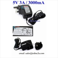 APD WA-15105R DC 5V 3A 3.5*1.35mm Power Adapter 3000mA 4r Router Modem D-Link