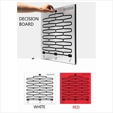 Creative Home Decoration DECISION Board the Decision Making Aid