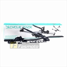 Rhino T-L 8000 Car Roof Automotive Aluminium Bike Rack Black