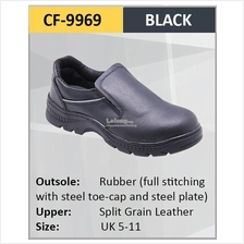 Hercules Safety Shoes Cow Leather Safety Boot Sizes 5-11 9969)