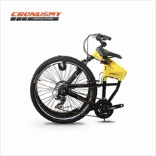 Cronus Soldier 1.0 Alloy 26' Foldable Bike Shimano 21sp + FREE GIFTS