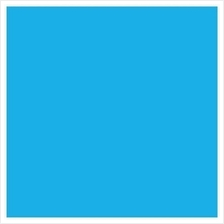 Superior Seamless Paper Backdrop Background 2.72 x 11m Blue