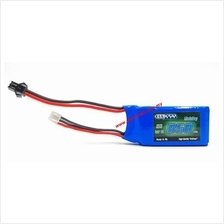 7.4v 850mah Lipo Battery RC Helicopter Drone Boat Car Toy Gun SM Plug