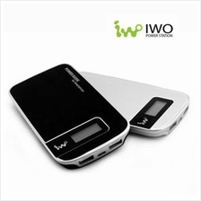 IWO P26P 5000mAh Power Bank Black With LCD Display