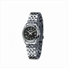 EYKI E-Times W8470 Ladies Stainless Steel Watch Silver Black