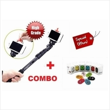 3 in 1 COMBO (Bluetooth Remote + YUNTENG Monopod + Smart Phone Holder)