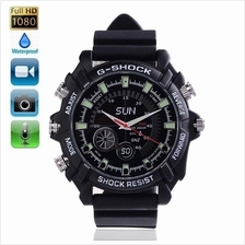 IR Night Vision HD SPY Waterproof Rub Watch 4GB Camcorder 1080P