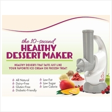 AS SEEN ON TV - The 10-second Healthy Dessert Maker Dessert Bullet