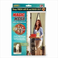Magic Mesh Screen Door Magnetic Anti Mosquito Bug Doors Curtain net