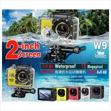 Ewing W9 2 Inch Full HD1080P 12MP Underwater 30M Wifi Mini Sports Acti