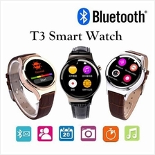 T3 Bluetooth Scratchproof Smart Phone Watch Support Sim SD Card