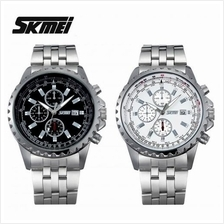 SKMEI 6865 Men''s Military Sports Calendar Quartz S.Steel Watch