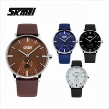 SKMEI 9083 Men''s Classic Calendar Quartz Leather Watch
