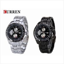 Curren 8083 Men's Military Quartz Stainless Steel Watch