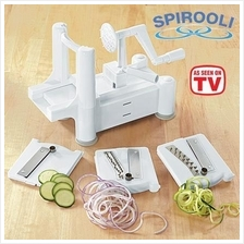 Spirooli - The 3-in-1 Turning Vegetable Slicer
