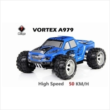 WLtoys VORTEX A979 1:18 RC Monster Truck 4WD RC Car !! 50KM/H FAST