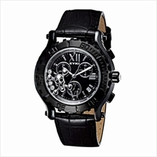 Eyki SS0081G Moving Skull Men's Watch Black