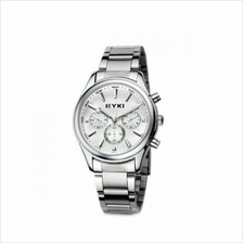 EYKI EET8581 Men Stainless Steel Watch Silver White