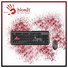 A4TECH Combo Bloody DoubleSecure Water-Resistant Keyboard - Q1100