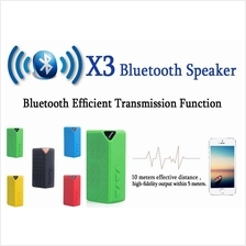 X3 Portable Mini Stereo Bluetooth Speaker with FM radio TF card Linein