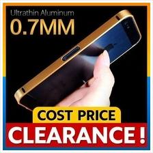 iPhone 5 5S SE Ultrathin 0.7mm Aluminum Metal Blade Bumper Case Casing