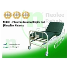 [Neolee] Katil Hospital Bed (Manual) 2 Fungsi - Hospital Bed