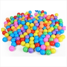 Colorful 5.5CM Soft Plastic Ocean Ball Baby Kid Swim Toy 100pcs