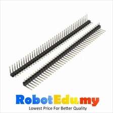 Electronic Component- 90 Degree Angle Bend Pin Header 1x40ways (male)*