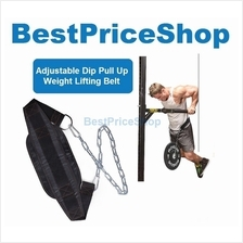 Gym Grade Adjustable Bodybuilding WeightLifting Waist Dip Pull Up Belt