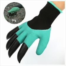 Garden Gloves With Claws Ergonomic Design