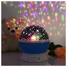 Stars Starry Sky LED Night Light Projector Luminaria Moon