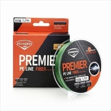 PROBEROS STRONG 300M 8 STRAND WEAVE PE BRAIDED FISHING LINE (GREEN))