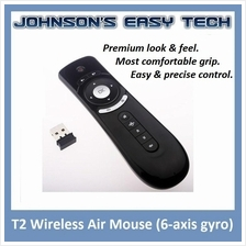 T2 Air Mouse 6-axis gyro for Android TV BOX PC Presentation